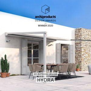 Hydroplants presenta HYDRA di KE insignita del prestigioso Archiproducts Design Award 2020