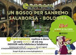 """Hydroplants Landscapes Design firma """"Un Bosco per Sanremo"""""""